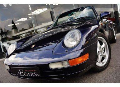 Vente Porsche 993 - 3.6 C2 CABRIO - MANUAL GEARBOX - FULL HISTORY - Occasion
