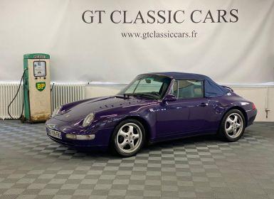 Vente Porsche 993 Cabriolet Occasion