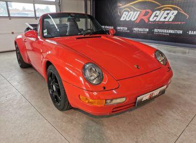 Vente Porsche 993 Carrera Cabriolet Occasion