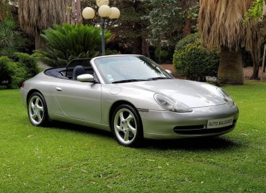 Vente Porsche 996 CARRERA 4 CABRIOLET Occasion