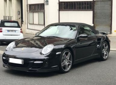 Vente Porsche 997 TURBO BVM CABRIOLET Occasion