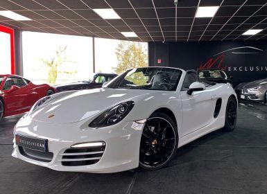 Porsche Boxster (981) 2.7l 265 Ch PDK - PARFAIT ETAT - Pack Chrono, Echapp. Sport, PASM, BOSE, Xénon PDLS, Jantes 20, ... - Révisé 08/2020 - GARANTIE 12 Mois