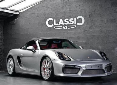 Vente Porsche Boxster 981 Spyder Occasion