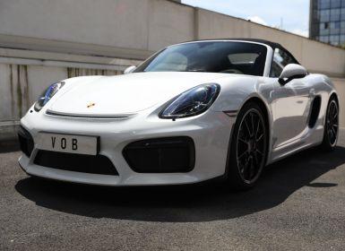 Vente Porsche Boxster PORSCHE 981 BOXSTER SPYDER EN ETAT NEUF Occasion