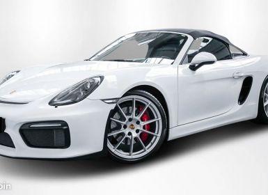 Achat Porsche Boxster SPYDER III (981) 3.8 375 CH 1 Main Etat NEUF FULL Options Occasion