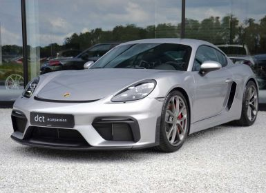Achat Porsche Cayman 718 GT4 Clubsport Chrono Carbon LED Neuf
