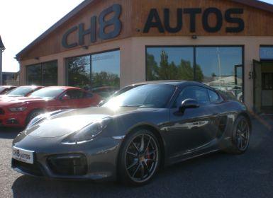 Porsche Cayman 981 gts 37602kms pack sport chrono pse jantes 20″ sport plus Occasion