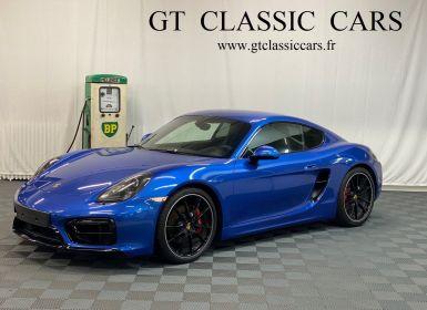 Porsche Cayman 981 GTS Bleu Saphir Occasion