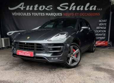 Vente Porsche Macan 3.6 V6 440CH TURBO PACK PERFORMANCE PDK Occasion