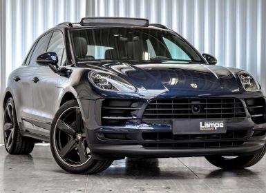 Vente Porsche Macan Night Blue Luchtvering ACC Keyless BOSE Sport Clas Occasion