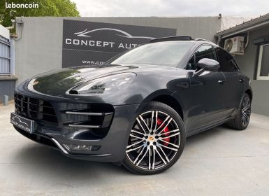 Porsche Macan turbo pack performance 3.6 v6 440 ch pdk exclusive manufaktur full 1 main tva Occasion