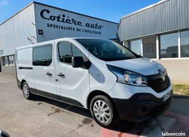 Renault Trafic L2h1 cabine approfondie 5 places Occasion
