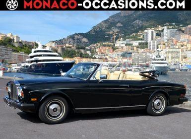 Voiture Rolls Royce Corniche Cabriolet Occasion