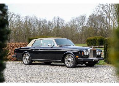 Vente Rolls Royce Corniche Coupe Mulliner Park Ward Occasion