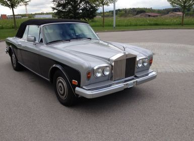 Voiture Rolls Royce Corniche II Convertible Occasion