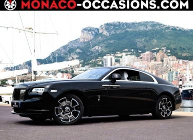 Voiture Rolls Royce Wraith V12 632ch Black Badge Occasion