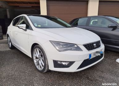 Achat Seat LEON 2.0 tdi 184 fr dsg 12/2015 TOIT OUVRANT PANORAMIQUE CAMERA Occasion
