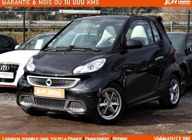 Achat Smart Fortwo 71 CH CABRIOLET PASSION PREMIERE MAIN Occasion