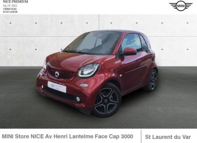 Vente Smart Fortwo Coupe 90ch prime twinamic E6c CARMIN RED Occasion