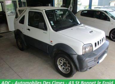Vente Suzuki JIMNY 1.5 DDIS 85CH MAHORY CABRIOLET Occasion