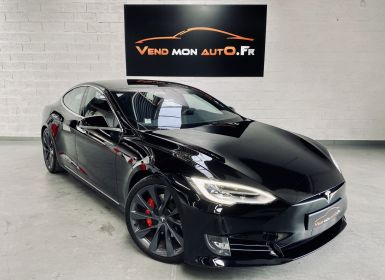Achat Tesla Model S PERFORMANCE LUDICROUS DUAL MOTOR Occasion