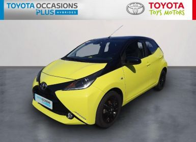 Vente Toyota AYGO 1.0 VVT-i 69ch x-cite 3 Jaune Fizz 5p Occasion