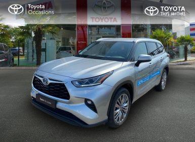 Vente Toyota Highlander Hybrid 248ch Design Business AWD-I Occasion