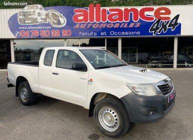 Vente Toyota Hilux 2.5l d4d extra cabine tva recuperable faible kilometrage Occasion
