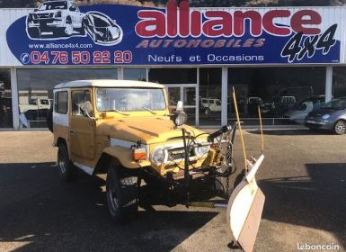 Vente Toyota Land Cruiser bj40 3l + lame a neige Occasion