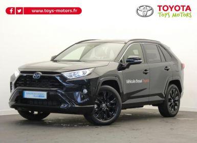 Achat Toyota Rav4 Hybride 218ch Black Edition 2WD MY21 Occasion