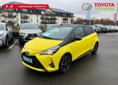 Acheter Toyota YARIS 100h Collection Jaune 5p Occasion