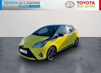 Toyota YARIS 100h Collection Jaune 5p Occasion
