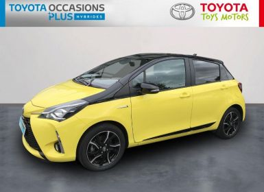 Achat Toyota YARIS 100h Collection Jaune 5p Occasion