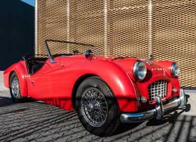 Vente Triumph TR3A Bocca Stretta Occasion