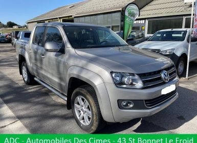 Volkswagen Amarok DOUBLE CABINE 2.0TDI 180CH 4X4 ENCLANCHABLE BV6 Occasion