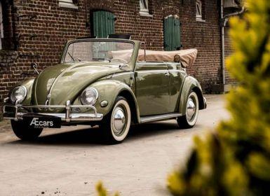Vente Volkswagen Beetle OVAL KARMANN KABRIOLETT - COLLECTORS ITEM Occasion