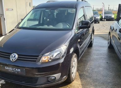 Volkswagen Caddy 1.6 CR TDi MAXI 7p Gps camera 1er main Occasion