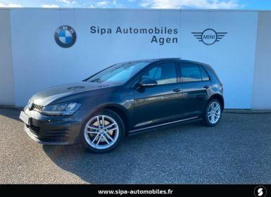 Voiture Volkswagen Golf 2.0 TDI 184ch BlueMotion Technology FAP GTD DSG6 5p Occasion