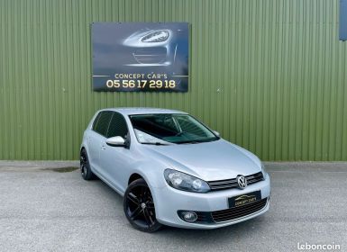Vente Volkswagen Golf 6 EDITION CARAT 5 Portes 2.0 TDI 16V FAP DSG6 110 cv Occasion