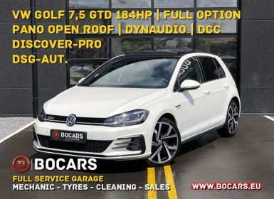 Volkswagen Golf GTD 2.0 TDi 184PK DSG | FULL OPTION | DCC | PANO