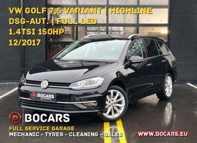 Achat Volkswagen Golf Variant 1.4 TSI 150pk Highline|LED-lichten|DSG-automaat Occasion