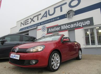 Volkswagen Golf VI CABRIOLET 1.2 TSI 105CH CARAT BLUEMOTION TECHNOLOGY Occasion