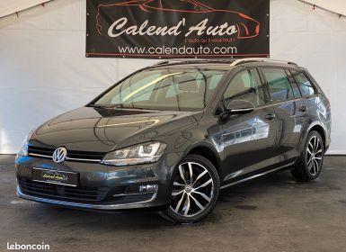Volkswagen Golf VII 7 SW 1.6 TDI 110 Match Allstar Optionnée Occasion