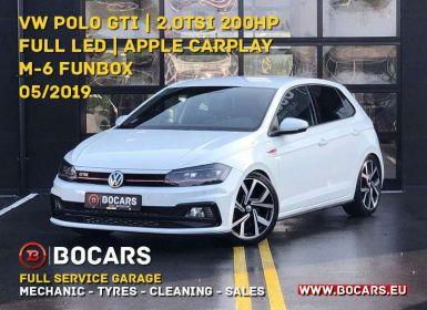 Vente Volkswagen Polo GTI 2.0 TSi 200pk Full LED   Apple Carplay   Oldschool Occasion
