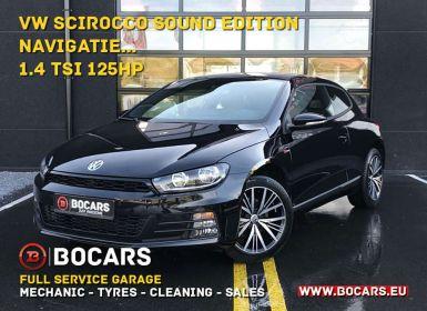 Achat Volkswagen Scirocco 1.4 TSI SOUND-edition|Navigatie|Achteruitrijcamera Occasion