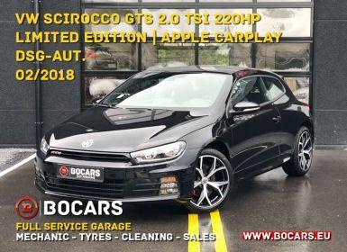 Vente Volkswagen Scirocco 2.0 TSI 220pk GTS DSG| VERKOCHT - VENDU - SOLD Occasion
