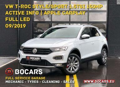 Achat Volkswagen T-Roc 1.5 TSI 150pk Style - Sport |Full LED| Apple Carplay Occasion