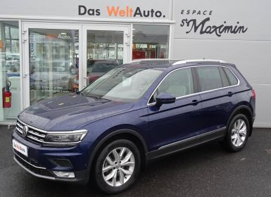 Voiture Volkswagen Tiguan 2.0 TDI 150 BlueMotion Technology DSG7 4Motion Carat Edition Occasion
