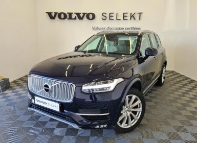 Vente Volvo XC90 D4 190ch Inscription Luxe Geartronic 5 places Occasion