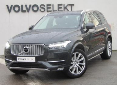 Voiture Volvo XC90 D5 AdBlue AWD 235ch Inscription Luxe Geartronic 7 places Occasion